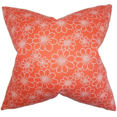 Lalita Floral Cotton Throw Pillow Cover