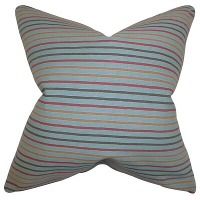 Jaylen Stripes Cotton Throw Pillow Size: 18 x 18
