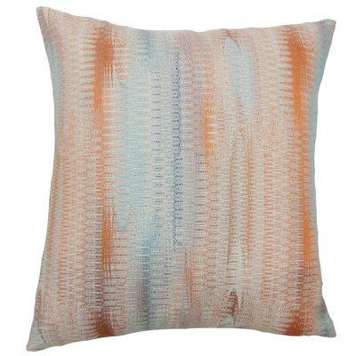 Ngozi Graphic Throw Pillow Cover Color: Harvest