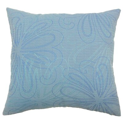 Pomona Floral Velvet Throw Pillow Cover