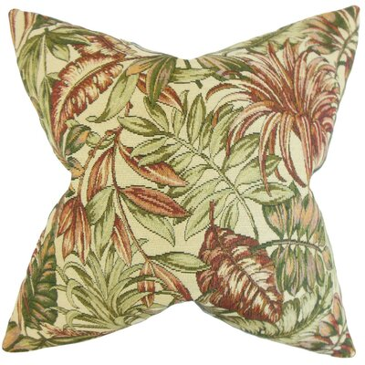 Oracia Foliage Throw Pillow Size: 24 x 24