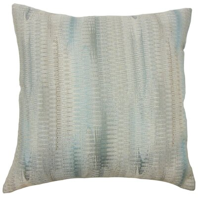 Ngozi Graphic Throw Pillow Cover Color: Placid