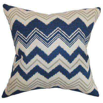 Quirindi Zigzag Cotton Throw Pillow Cover Color: Birch