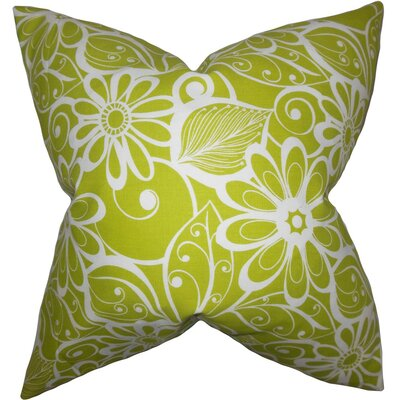 Isaline Floral Throw Pillow Size: 18 x 18