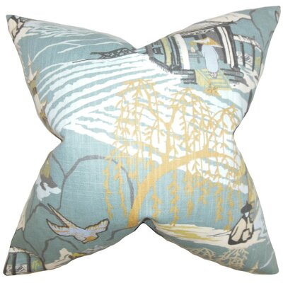 Praxis Geometric Throw Pillow Cover Color: Cove