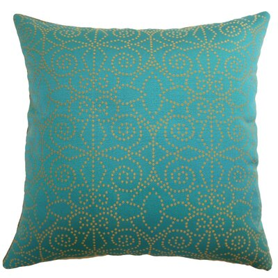 Makemo Dots Throw Pillow Cover Size: 18 x 18