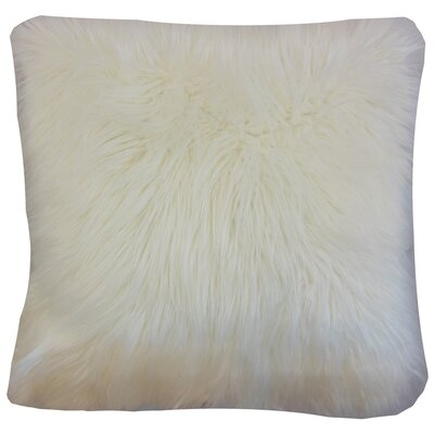 Valeska Faux Fur Throw Pillow Cover