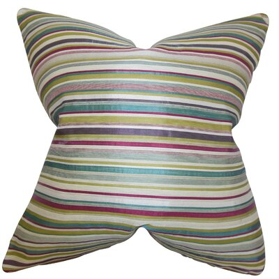 Karsten Stripes Throw Pillow Size: 24 x 24