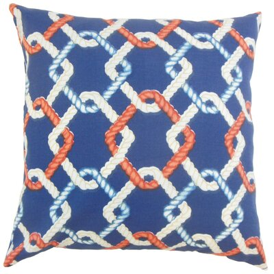 Jabre Outdoor Throw Pillow Size: 18