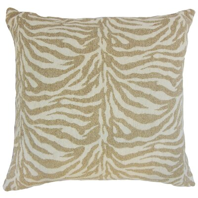 Ksenia Throw Pillow Color: Siberian, Size: 18 x 18