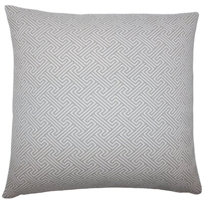 Reijo Geometric Throw Pillow Size: 18 x 18, Color: Linen