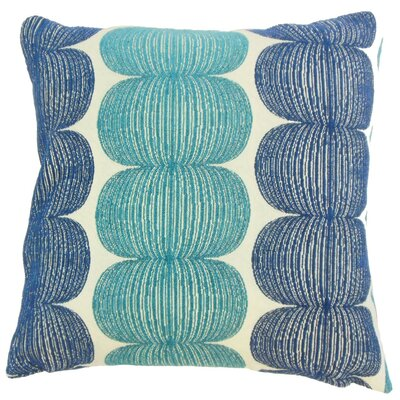 Sophronia Throw Pillow Color: Snowcone, Size: 18 x 18