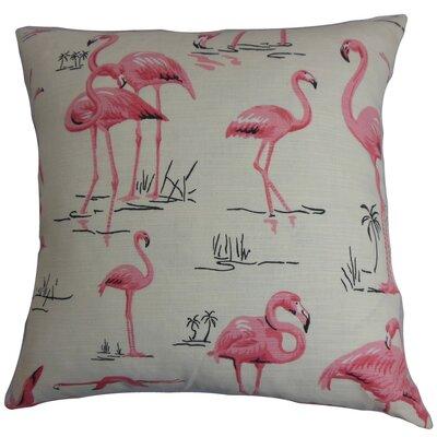 Qusay Bedding Sham Color: Natural Pink, Size: Standard