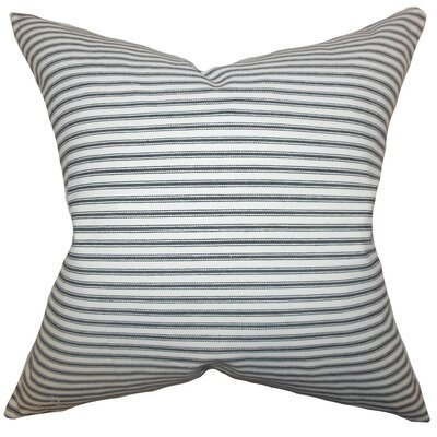 Ferebee Stripes Bedding Sham Size: Euro, Color: Gray