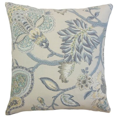 Liora Floral Throw Pillow Size: 18 x 18