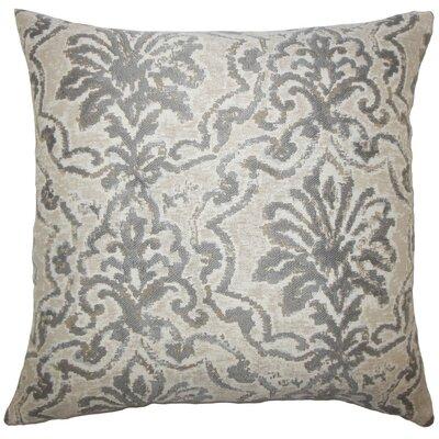 Zain Damask Throw Pillow Size: 20