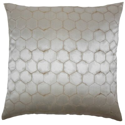 Balint Solid Throw Pillow Size: 18 x 18