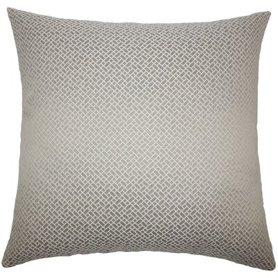 Haytham Solid Throw Pillow Size: 24 x 24