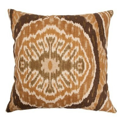 Iovenali Ikat Bedding Sham Size: Queen, Color: Tortoise
