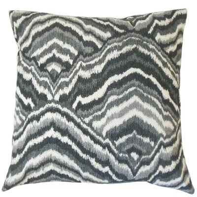 Quiana Graphic Cotton Throw Pillow Size: 18 x 18