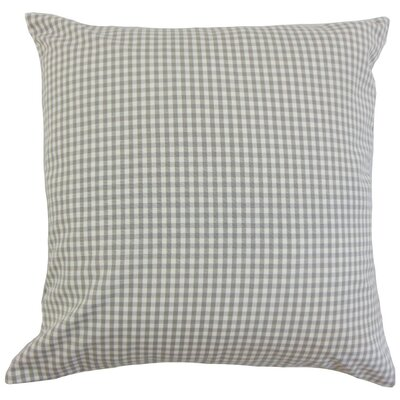 Keats Plaid Bedding Sham Size: Euro, Color: Slate
