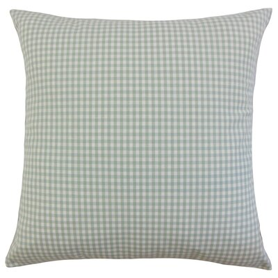 Keats Plaid Bedding Sham Size: Euro, Color: Sea