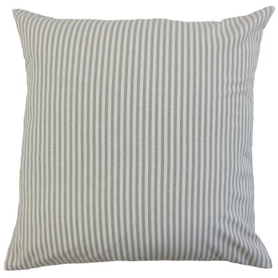 Melinda Stripes Bedding Sham Size: Euro, Color: Slate