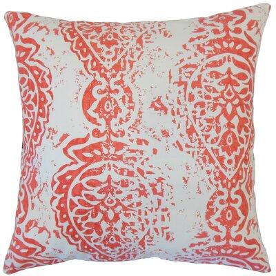 Tarangini Ikat Cotton Throw Pillow Size: 22 x 22