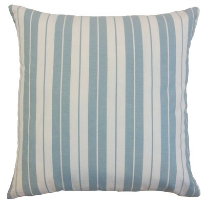 Henley Stripes Bedding Sham Size: Euro, Color: Sea
