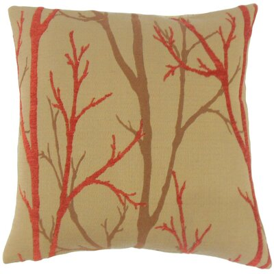 Ryne Foliage Throw Pillow Size: 22 x 22