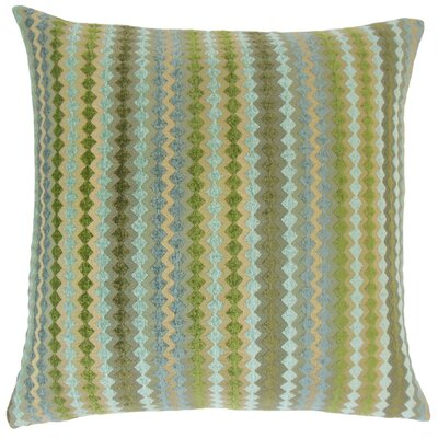 Kawena Throw Pillow Color: Lake, Size: 20 x 20