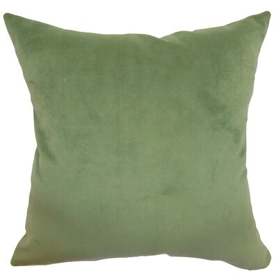 Generys Plain Velvet Throw Pillow Size: 22 x 22