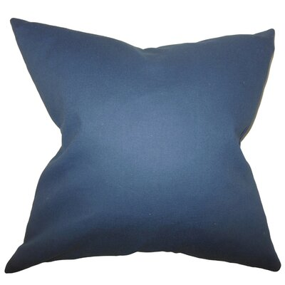 Kalindi Solid Bedding Sham Size: Queen, Color: Blue