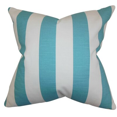 Acantha Stripes Bedding Sham Size: Standard, Color: Coastal Blue STD-pp-stripe-costalblue-c100