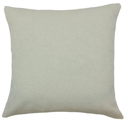 Letitia Graphic Bedding Sham Size: Queen, Color: Shell