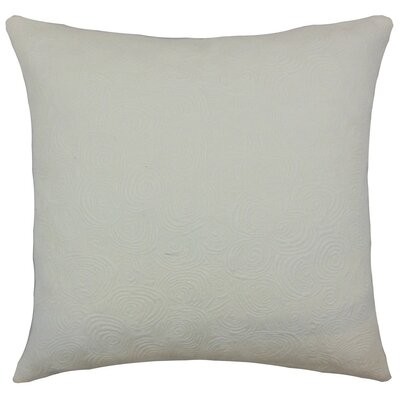 Letitia Graphic Bedding Sham Size: King, Color: Ivory