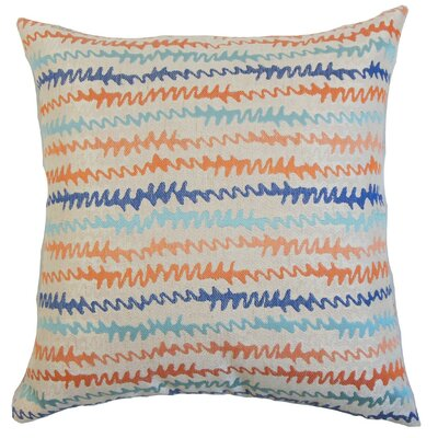 Malu Throw Pillow Color: Harvest, Size: 18 x 18