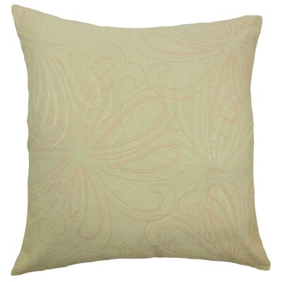 Pomona Floral Bedding Sham Size: Standard, Color: Freesia