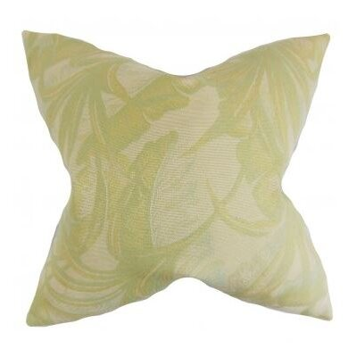 Etain Foliage Cotton Throw Pillow Cover