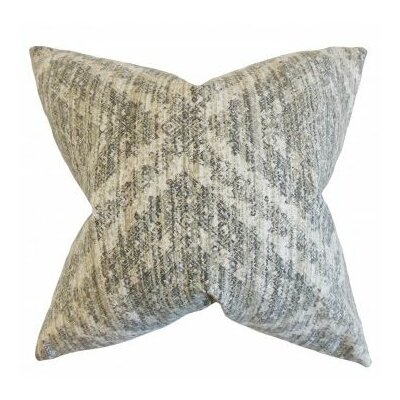 Burholme Geometric Cotton Throw Pillow Cover