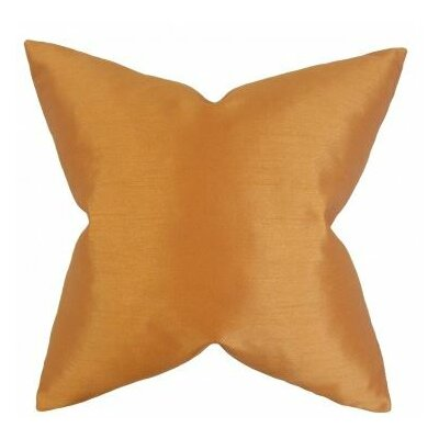 Burchard Solid Cotton Throw Pillow Cover