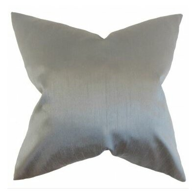 Burchard Solid Linen Throw Pillow Cover