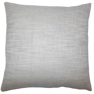 Daker Weave Bedding Sham Size: Euro, Color: Grey