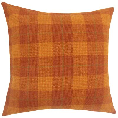 Damir Plaid Bedding Sham Size: Queen
