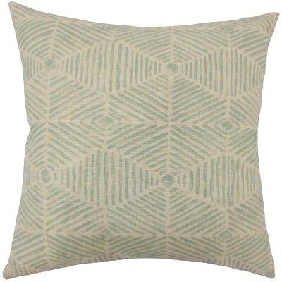 Cais Geometric Bedding Sham Size: Standard, Color: Lennox