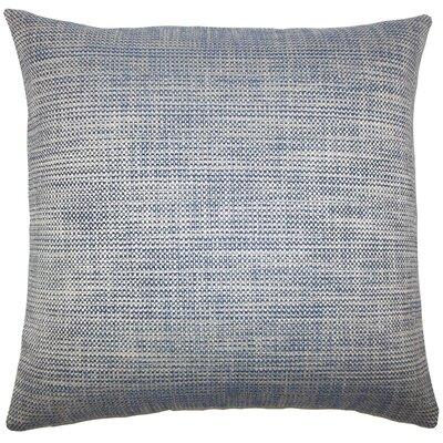 Daker Weave Bedding Sham Size: Euro, Color: Indigo