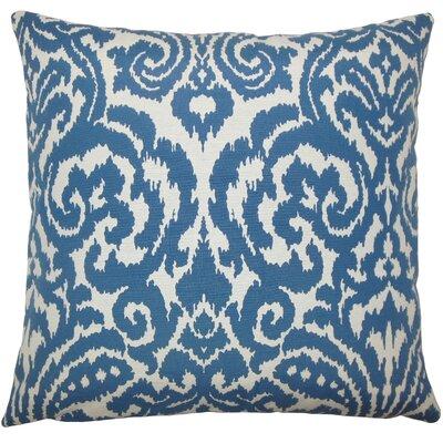 Wafai Ikat Bedding Sham Size: Standard, Color: Coral