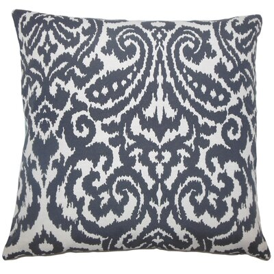 Wafai Ikat Bedding Sham Size: King, Color: Aegean