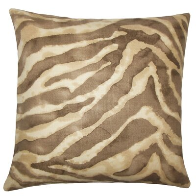 Zelig Animal Print Bedding Sham Size: Euro