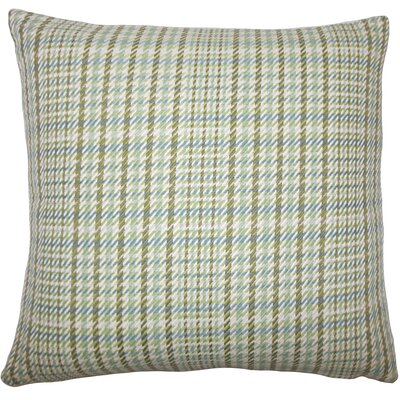 Zenjiro Plaid Bedding Sham Size: Euro